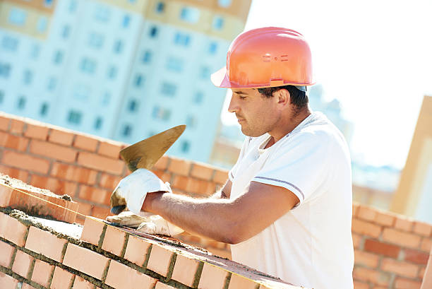 Installing brick tiles