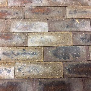 Clay brick tiles